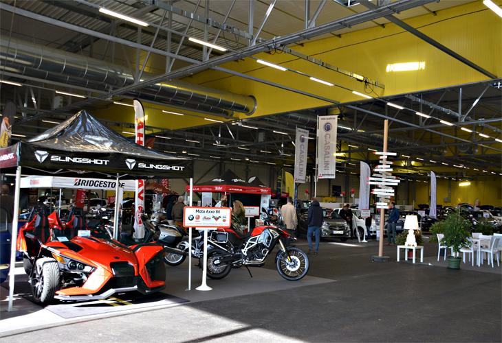 Salon auto moto poitiers une seconde dition r ussie for Garage moto poitiers