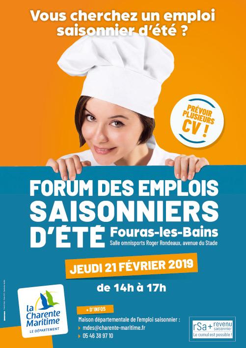 forum des emplois saisonniers d u0026 39  u00e9t u00e9  u00e0 fouras