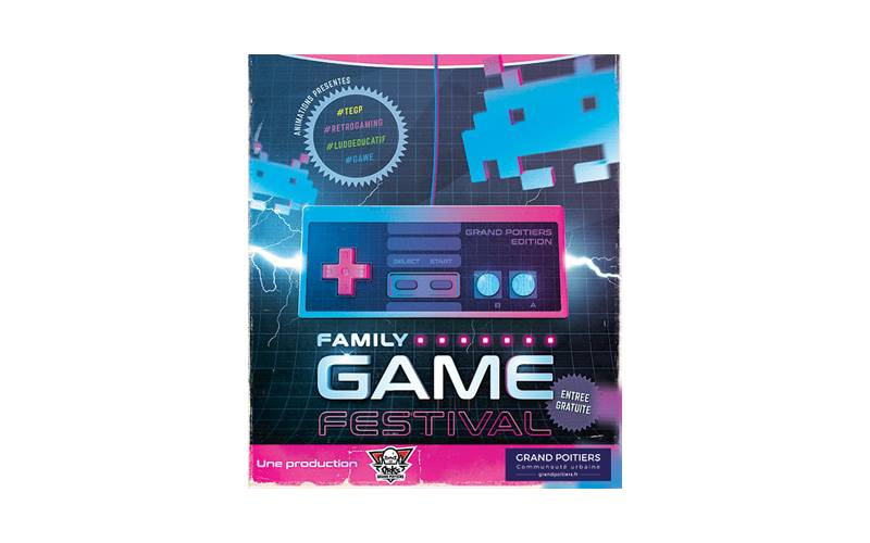 Esport : Family Game Festival à Rouillé