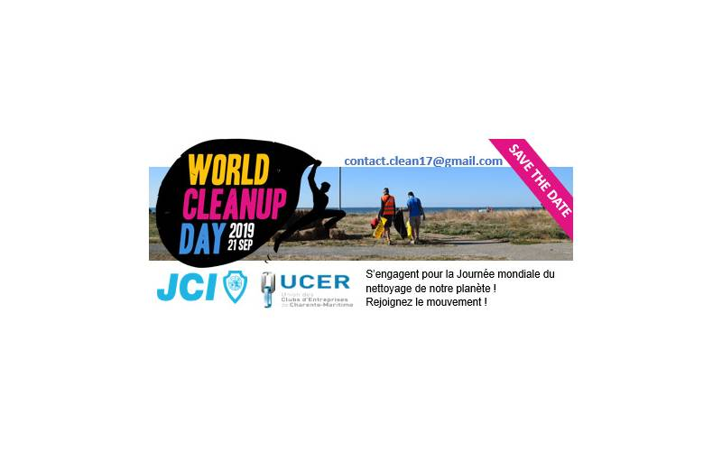 World CleanUp Day le 21 septembre !